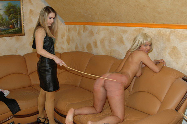 Caning casting monica matos and monika 6