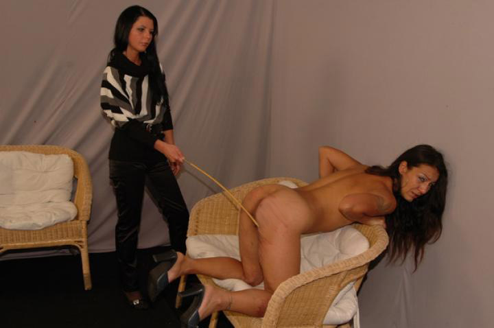 Caning casting monica matos and monika 4
